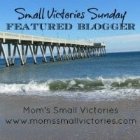 small victories sunday linky featured blogger 200x200