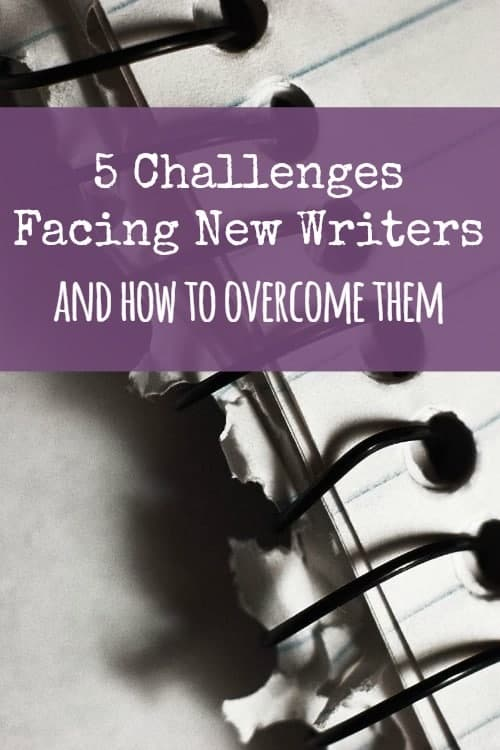 Be Our Guest Fridays {1}: 5 Challenges Facing New Writers and How to Overcome Them by Adria Cimino
