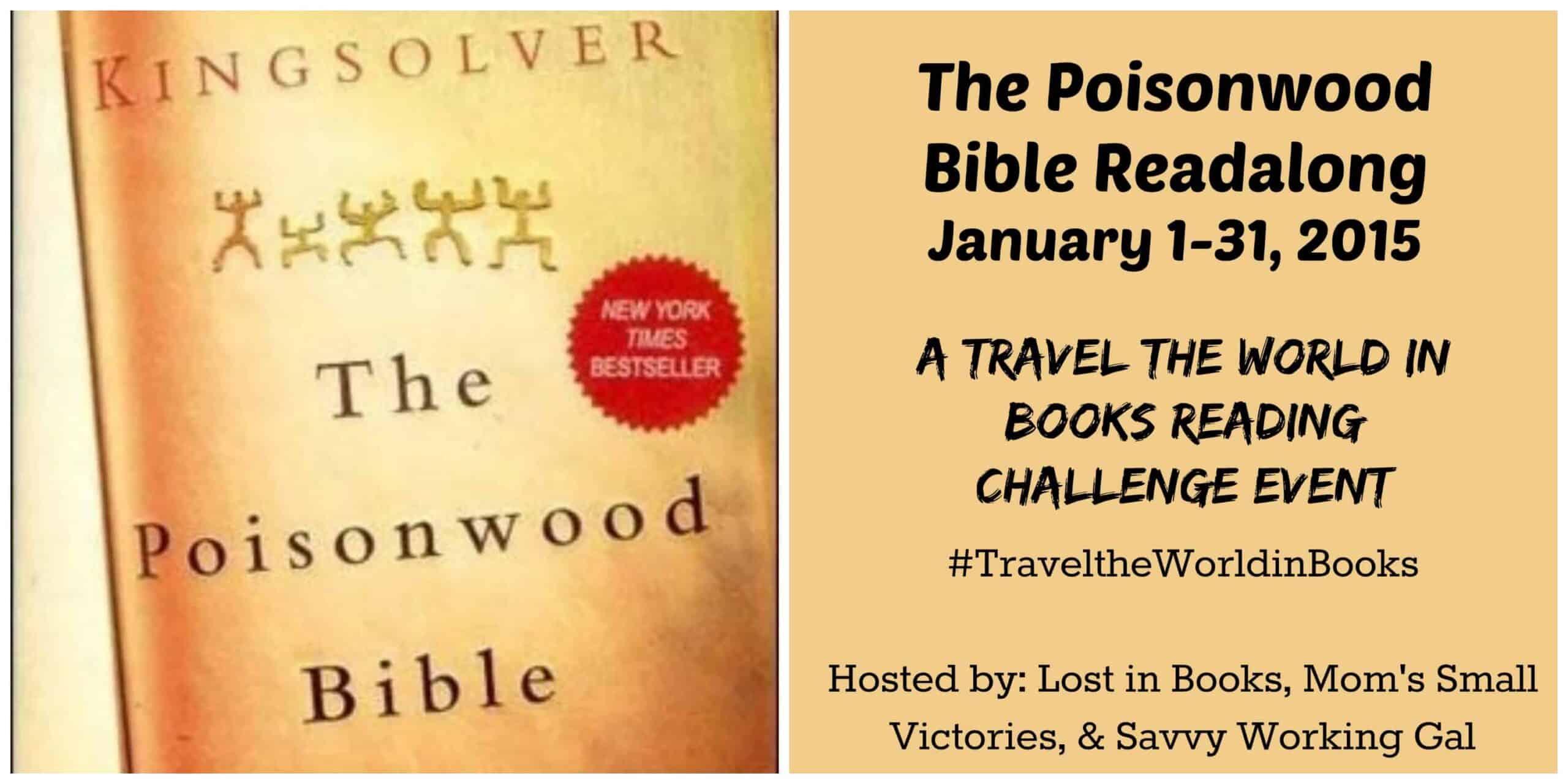 The Poisonwood Bible Readalong, January 2015