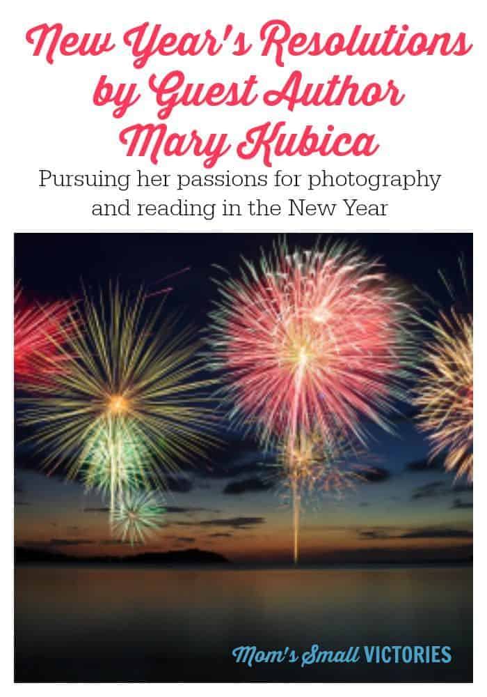 New Year's Resolutions by Guest Mary Kubica, author of The Good Girl and Pretty Baby. Mary shares her resolutions and how she'd like to pursue her passions for photography and reading in the New Year.
