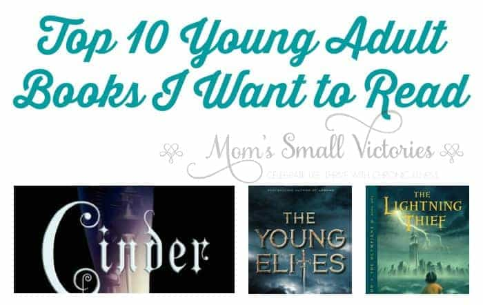 """Top 10 Young Adult Books I Want to Read featuring cyborgs, """"bad"""" princesses, Greek gods, young detectives and ghosts! What YA books are your favorites?"""