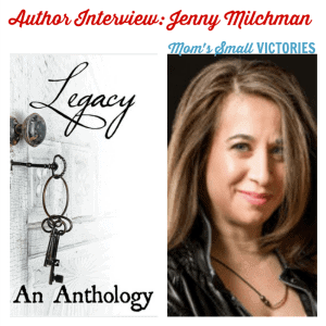 Legacy #30Authors Blog Tour: Author Interview with Jenny Milchman