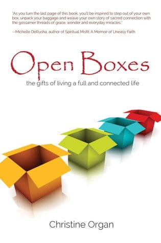 Open Boxes by Christine Organ Book Review