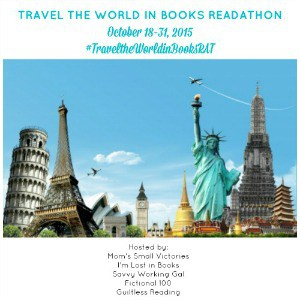 Our Travel the World in Books Readathon is a chance to read books to learn about different cultures and countries than your own. Join us October 18-31, 2015 to expand your horizons, travel the world in books and let publishers know #WeNeedDiverseBooks.