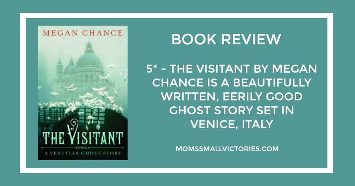 The Visitant: A Venetian Ghost Story by Megan Chance was a fast paced, beautifully written, eerily good ghost story that exceeded my expectations.