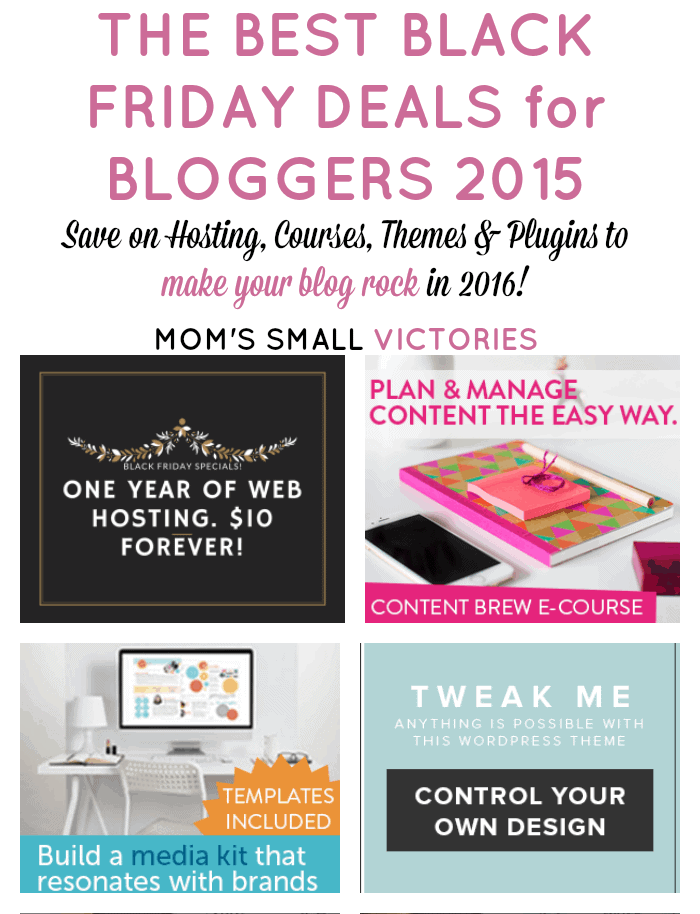 The Best Black Friday Deals for Bloggers 2015