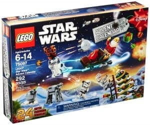 Lego Star Wars Advent Calendar. A unique gift idea for Star Wars fans who have everything.