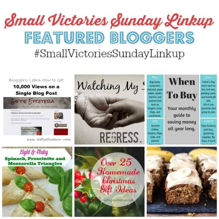 Small Victories Sunday Linkup {81}