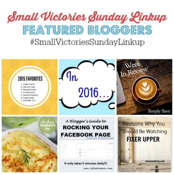 Small Victories Sunday Linkup {82}