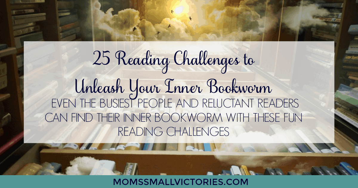 25 Reading Challenges to Unleash Your Inner Bookworm. Even the busiest people and reluctant readers can find their inner bookworm with these fun reading challenges.