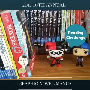 Graphic Novels/Manga Reading Challenge 2017 is one of our 25 Reading Challenges to Unleash Your Inner Bookworm.