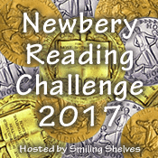 Newbery Reading Challenge hosted by Smiling Shelves encourages parents and kids to read award winning kids books and is one of our 25 Reading Challenges to Unleash Your Inner Bookworm.