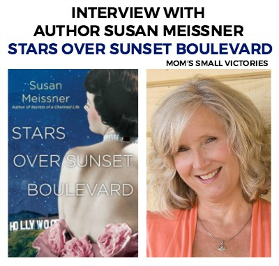 Interview with Author Susan Meissner, Stars Over Sunset Boulevard. The reader's journey in Stars Over Sunset Boulevard is a look at what we are willing to do or become to hold onto what we can't imagine living without.