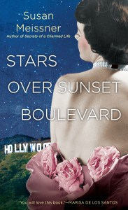 Stars over Sunset Boulevard by Susan Meissner. When an iconic hat worn by Scarlett O'Hara in Gone With the Wind ends up in Christine McAllister's vintage clothing boutique by mistake, her efforts to return it to its owner take the reader on a journey to the past.