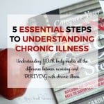 5 Essential Tips to Understanding Chronic Illness. Understanding YOUR body makes all the difference between surviving and THRIVING with chronic illness. Here are 5 steps I took to improve my health and you can too!