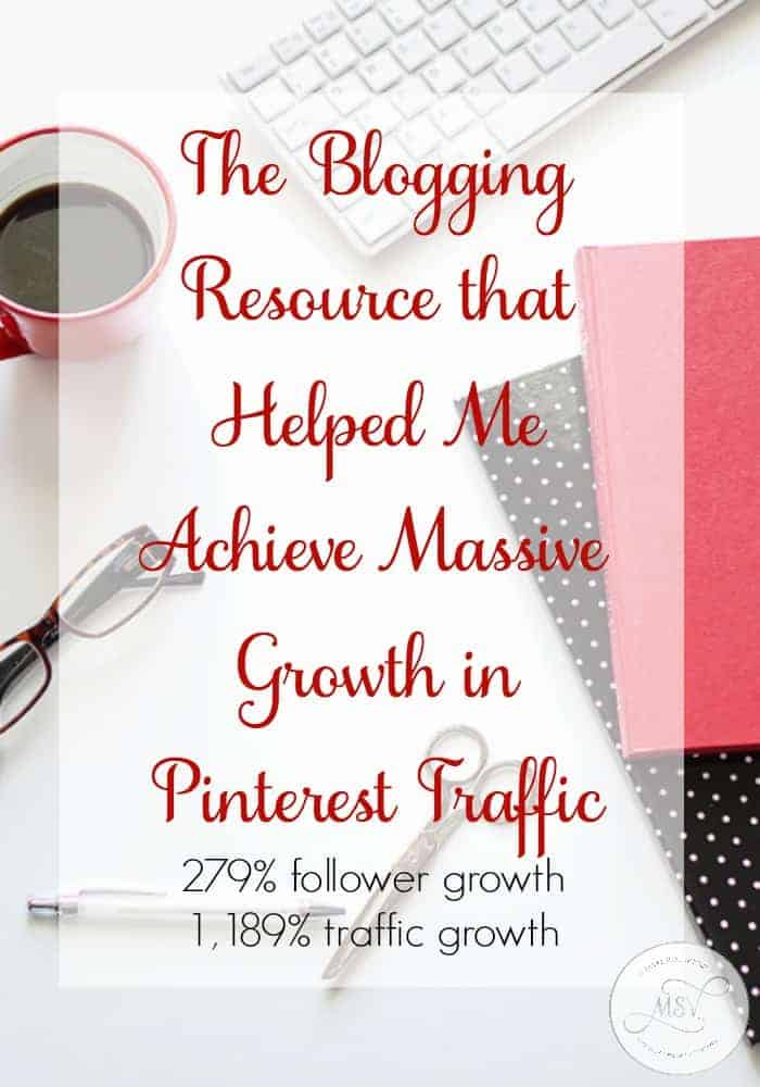 Pinning Perfect - the Blogging Resource that helped me achieve MASSIVE growth in Pinterest Traffic including 279% follower growth and 1,899% traffic growth!