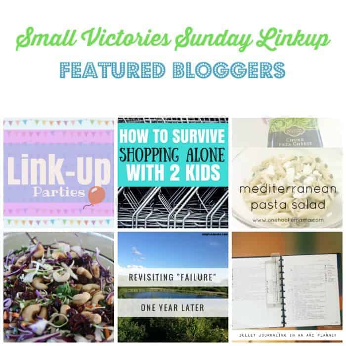 Small Victories Sunday Linkup {107}