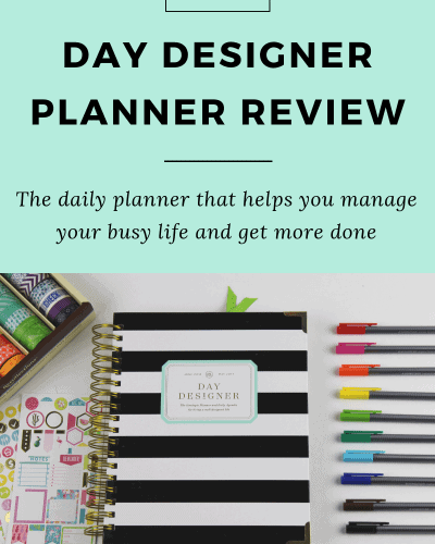 Day Designer Planner Review: Manage Your Busy Life and Get More Done