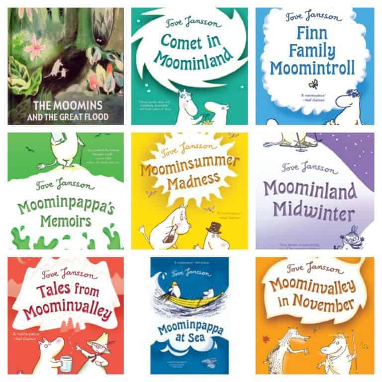 Author Olga Grushin Recommends The Moomin Series of Children's Books