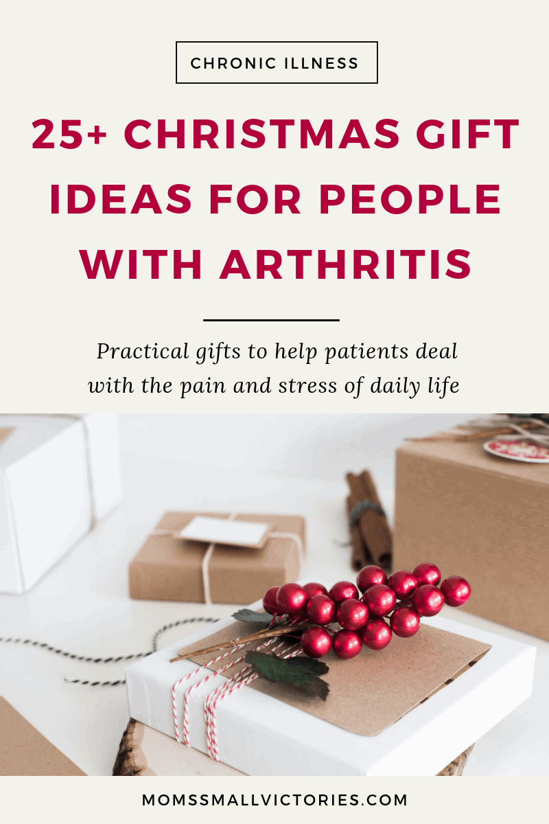 Gift Guide for Rheumatoid Arthritis patinets: 25+ Christmas Gift Ideas for People with Arthritis. Practical gifts to help patients deal with the pain and stress of daily life.