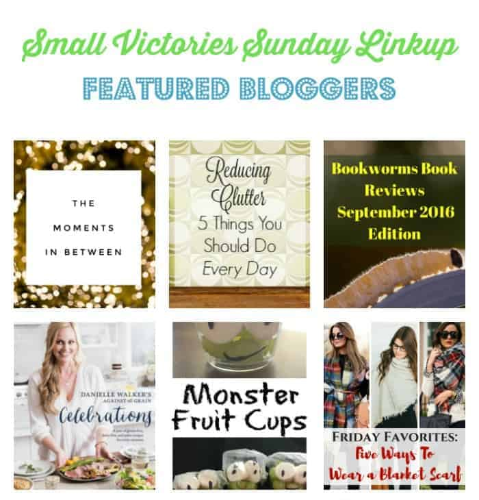 Small Victories Sunday Linkup {123}