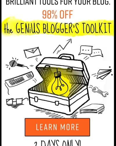 Top Ten Courses I Gotta Have from the Genius Blogger's Toolkit