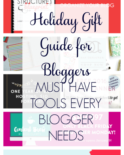Holiday Gift Guide for Bloggers 2016