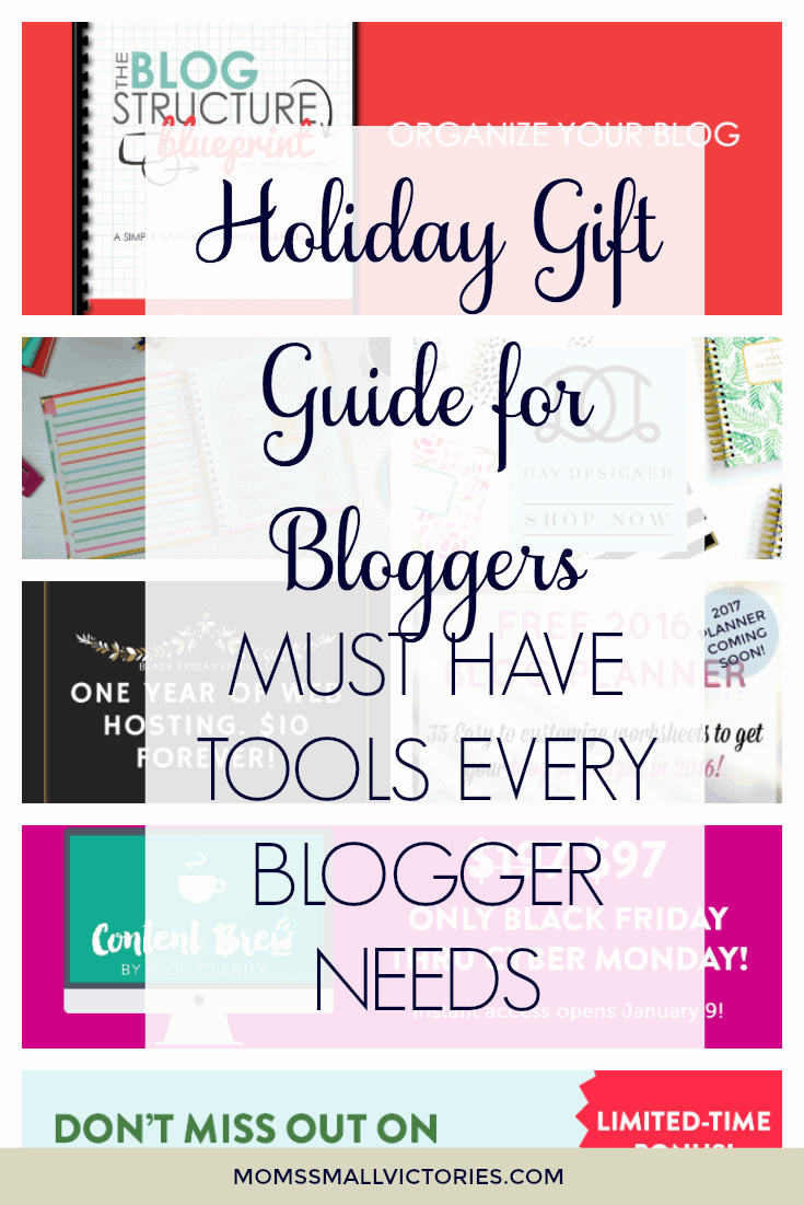 Holiday Gift Guide for Bloggers and the Must Have Tools Every Blogger Needs to Elevate Your Blog in 2017