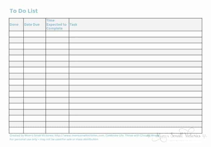to do list tracker from the free 2017 blog planner that includes 36