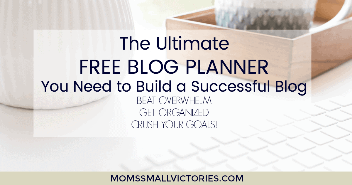 ultimate free blog planner