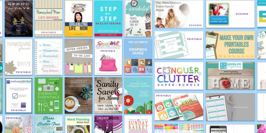 The Conquer Your Clutter bundle is full of 38 ecourses, planners and ebooks to help you conquer your clutter once and for all. Valued at over $650 you can get all these amazing resources for less than $50! Grab your copy now and make your home the peaceful sanctuary you seek