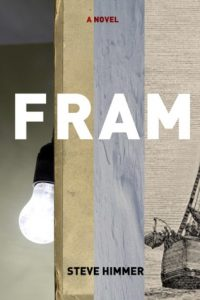 Fram by Steven Himmer is a quirky story about a bureaucrat who is sent to the Arctic on a secret mission after years of making up polar expeditions. Fram is on our Ultimate Winter Reading List.