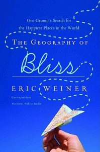 The Geography of Bliss: One Grump's Search for the Happiest Places in the World and is one of the books on our Ultimate Winter Reading List.
