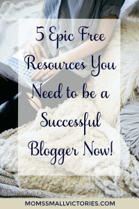 Are you achieving all your blogging goals? Check out these 5 Epic FREE Resources You Need to be a Successful Blogger NOW! Why wait to achieve the dream life you want? These tools can help you on your way to turn your blogging passion into profit.