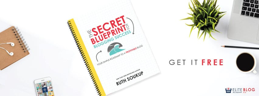 The free Secret Blueprint For Blogging Success printable will help you develop the framework you need to build a profitable blog. Learn how to refine your message, grow your audience, monetize your platform and build your business,