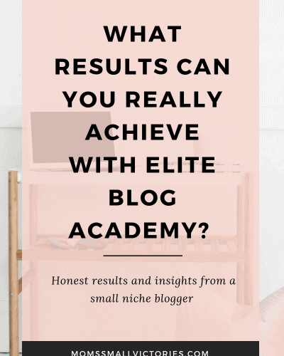 If You Give a Blogger Elite Blog Academy…Elite Blog Academy Results