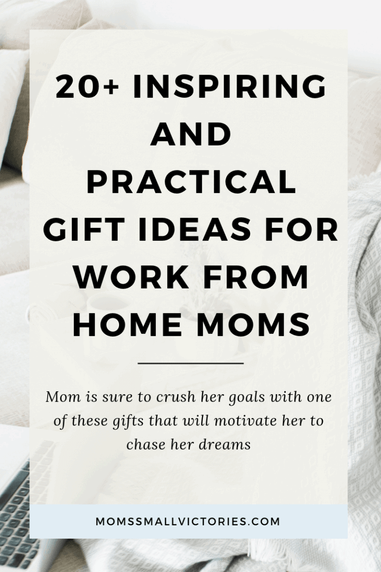 27+ Inspirational Gifts to Give Mom Who Works from Home