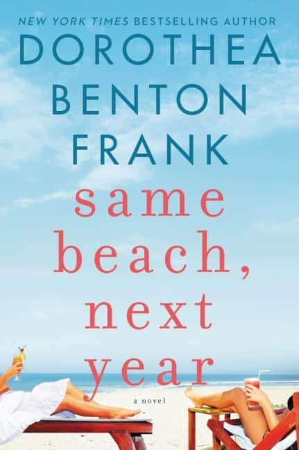 Same Beach, Next Year by Dorothea Benton Frank explores whether people really get over their first loves and can men and women really ever just be friends? Set in the beautiful Isle of Palms, South Carolina and Corfu, Greece, Same Beach, Next Year is a fun and entertaining addition to your summer reading list.