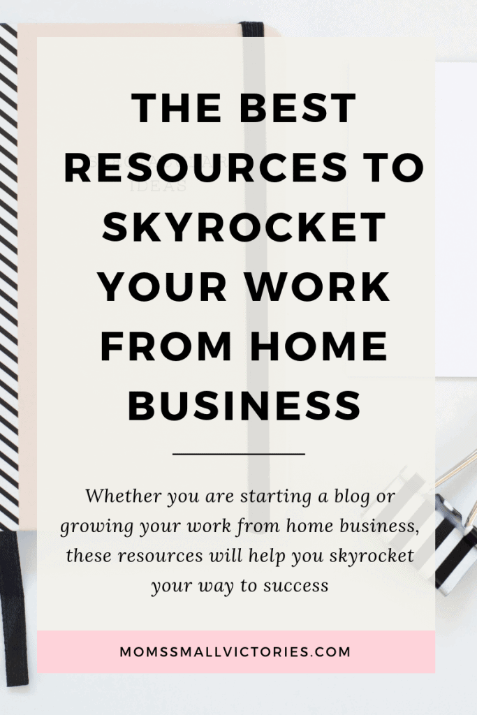 The Best Work From Home Resources You Need to Skryocket Your Blog or Business. Whether you are just starting a blog or growing your work from home business, these resources will help you skyrocket your way to success.