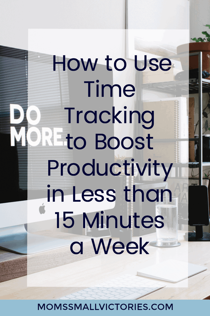 How to Use Time Tracking to Boost Productivity in Less than 15 Minutes a Weekl. Time tracking is the simplest and most effective tool I've found to improve your productivity and keep you focused on your goals.