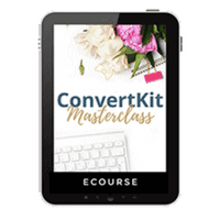 ConvertKit Masterclass is an amazing class by Redefining Mom to walk you step by step through setting up, effectively using and growing your email list to build traffic and income from your most loyal fans.