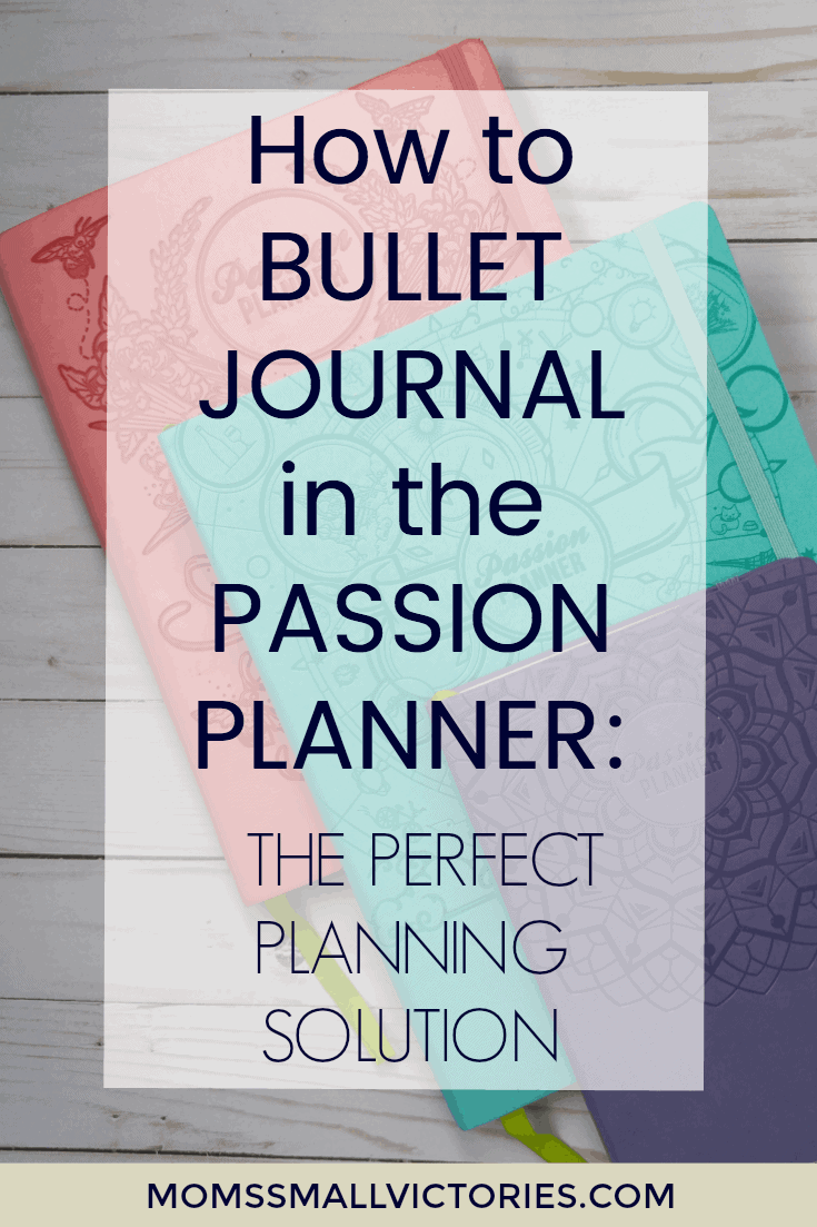 How to Bullet Journal in a Passion Planner: the Perfect Planning Solution. The Passion Planner has a minimal design that is easy to customize to suit your needs, plenty of useful layouts to help you pinpoint and focused on your goals and reflections pages to keep you motivated. Plenty of notes pages for your various bullet journal collections for even the most avid note takers and list makers.