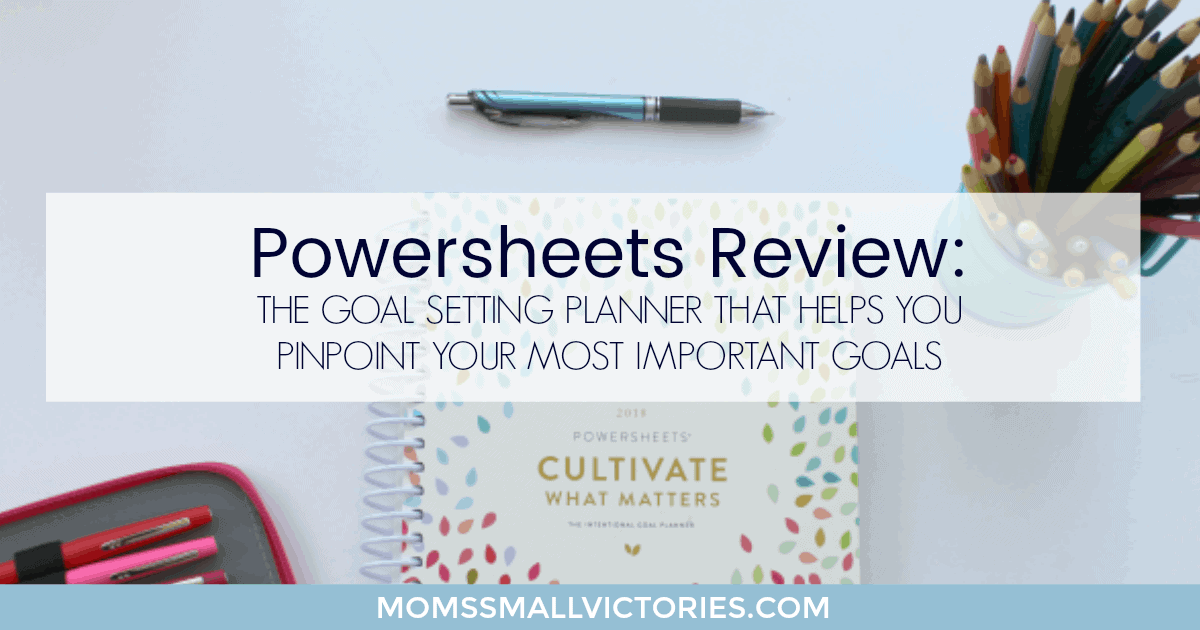 Powersheets Review: Powersheets goal setting planner will help you overcome your fears, pinpoint your most important goals so you can focus and get things done.