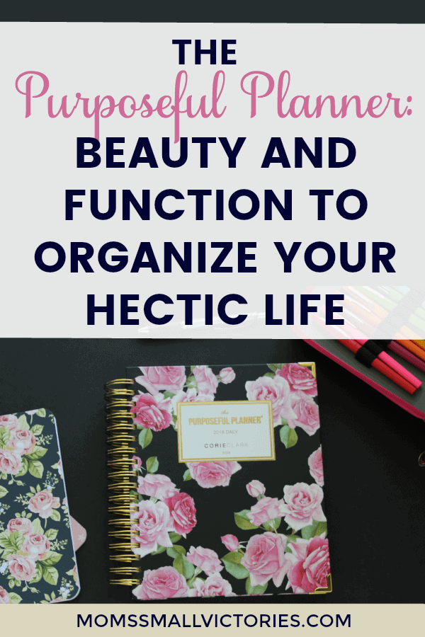 The Purposeful Planner Review: Beauty Meets Function to organize your hectic life. Plan your schedule, todos, menu, budget, home tasks, & live the life you want