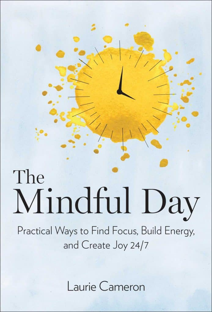 The Mindful Day* by Laurie J. Cameron is a very practical guide to implementing mindfulness in all aspects of our daily lives. I think it will help give me a greater sense of peace amidst the chaos of life. By focusing on the chapters that I struggle with most, I will be able to see positive results and experience quick wins right away. I highly recommend this book if you too are tired of feeling out of sorts or overwhelmed and are seeking a more peaceful, intentional, purposeful life.
