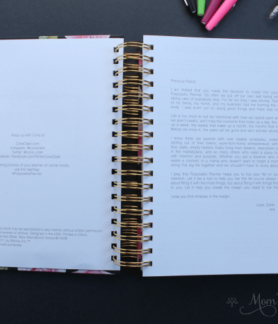 The Purposeful Planner Review: Beauty Meets Function to Organize Your Hectic Life