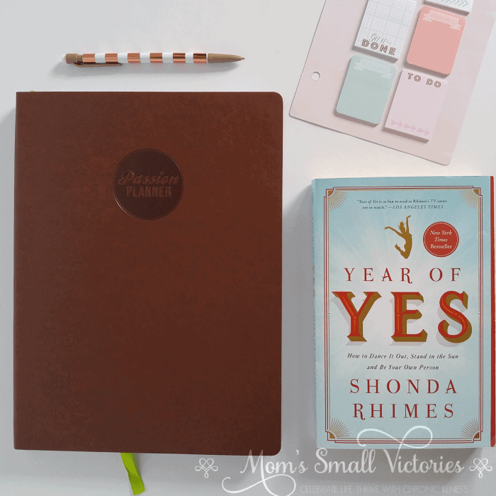 The Passion Planner January to December 2018 Classic Size Vertical Weekly Planner and Year of Yes by Shonda Rhimes is one of the prizes in the Ultimate Planner Comparison + Giveaway. Get all the details on the 11 best life and goal planners on the market to find the best planner for you in your current season of life.
