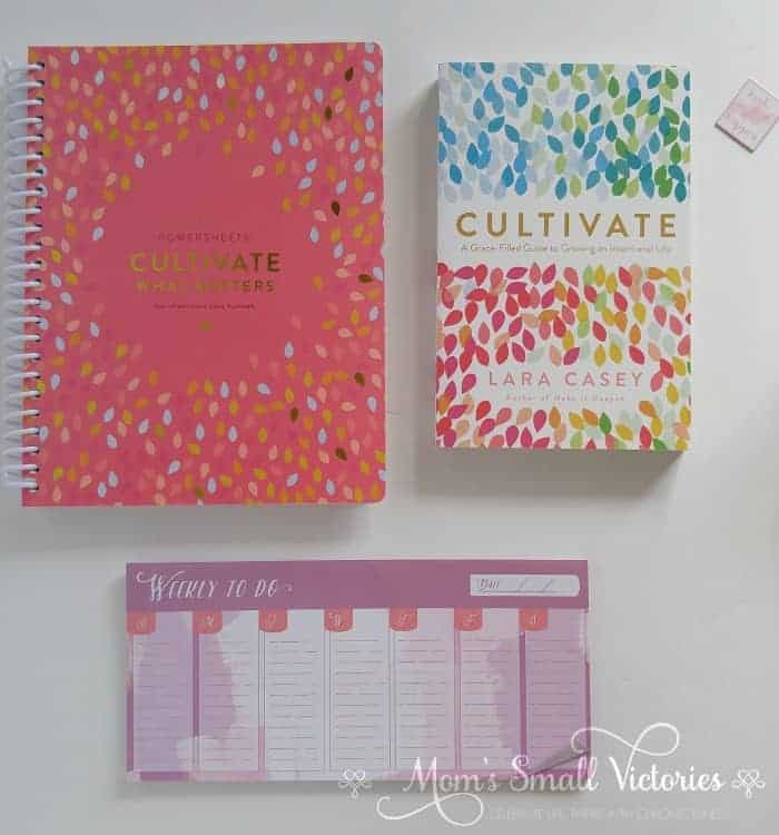 Powersheets 2018 6 month undated and Cultivate by Lara Casey is one of the prizes in the Ultimate Planner Comparison + Giveaway. Get all the details on the 11 best life and goal planners on the market to find the best planner for you in your current season of life.