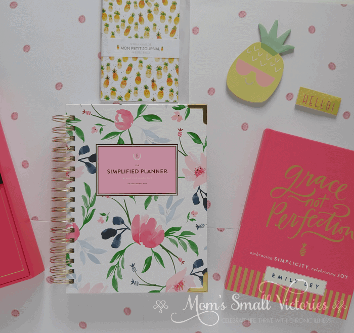 The Simplified Planner August 2018 to July 2019 Watercolor Floral and Grace Not Perfection by Emily Ley is one of the prizes in the Ultimate Planner Comparison + Giveaway. Get all the details on the 11 best life and goal planners on the market to find the best planner for you in your current season of life.