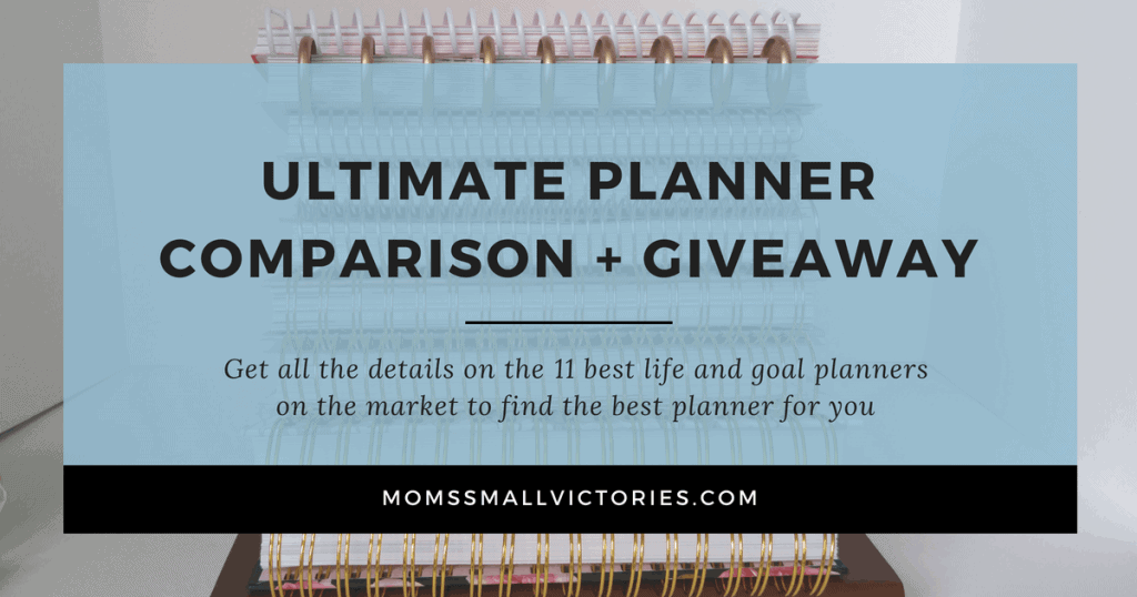 Ultimate Planner Comparison + Giveaway. Get all the details on the 11 best life and goal planners on the market to find the best planner for you in your current season of life.
